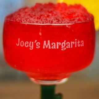 Engraved Personal Cactus Margarita Glass