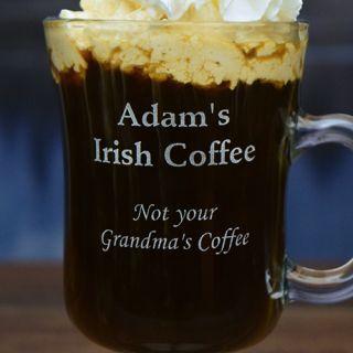 Engraved Not Your Grandma's Irish Coffee Mug