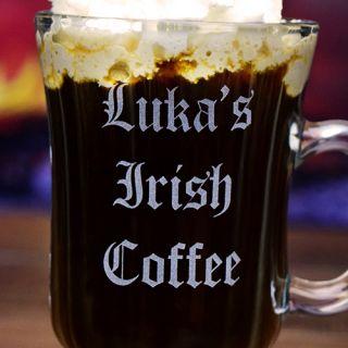 Engraved Personal Irish Coffee Mug