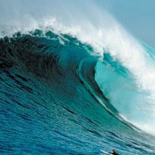 Blue Tidal Wave